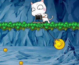 play Cat Gold Miner game